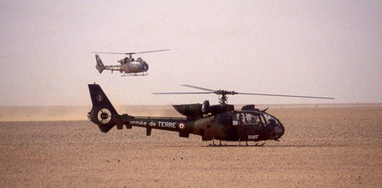 L'hélicoptère GAZELLE SA 341 F2