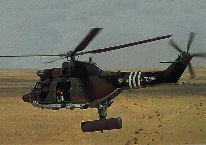 Hélicoptère PUMA SA 330