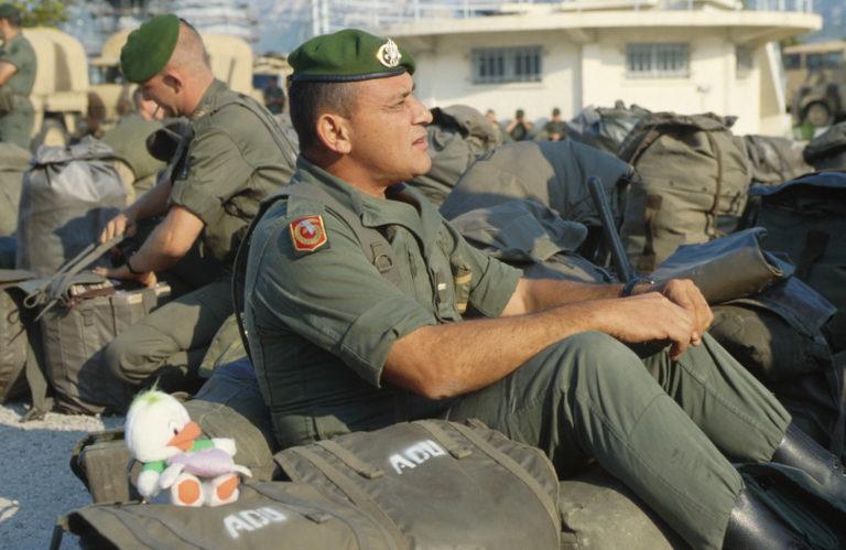 La tenue F2 vert armée